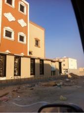 شقة للايجار جديده مدخل مستقل دور ثاني الورود الذيبيه