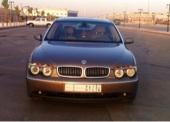 بي ام 730 li 2005 لوحة مميزة