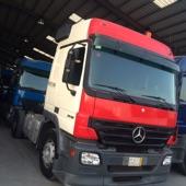 شاحنة اكتروس راس للايجار بسواق