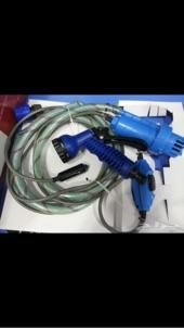 مضخة ومروش لغسيل السيارة وطلعات البر والاستخدامات اخرى تعمل على ولاعة السيارة