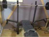 ثقال 80kg.  مع كرسي. وشنطة.   ل30kg
