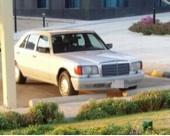 مرسيدس SEL نظيف 1990م