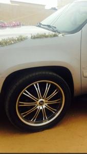 جنوط ( جمس   تاهو ) 6 براغي - حجم 22 نظيفه