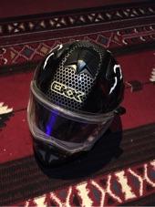 للبيع خوذة اصليه ماركة CKC .. flip up Helmet