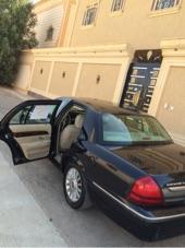 للبيع فورد جراند ماركيز 2010 سعودي اللون اسود ثاني استخدام من الوكاله.