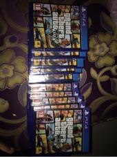 اشرطة GTA V PS4لبيع في شرقيه وخارجها