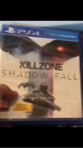 للبيع شريط killzone shadow fall للبلايستيشن4 لأعلى سوم او للبدل ب wwe2k15