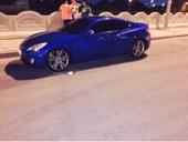 هونداي جنسيس كوبيه للبيع لون ازرق ببسي 2012 قير عادي