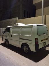فان بضاعة بثلاجة تبريد ميتسوبيشي L300 للمواد الغذائية والخضار والفواكة والتمور