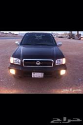 بسم الله الرحمن الرحيم اعرض لكم سيارتي باثفندر  2003