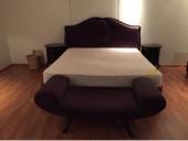 غرفة نوم كاملة مع المرتبة (فخمة وراقية ونظيفة جدا) استخدام عرسان