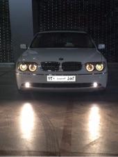 BMW نظيفه بلوحه مميزه