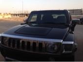 همر H3 أسود 2009 للبيع