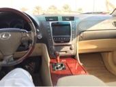 للبيع لكزس موديل 2007 سعودي اللون لؤلؤي gs430
