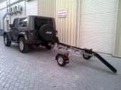 قلص للدراجات النارية أسترالي الصنع - قابل للطي