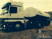للبيع شاحنه اكترس نظيفه جدا وتانكي 30 طن