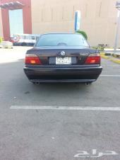 BMW E38 728  1998  بحالة ممتازة