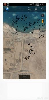 بيع قطعتين ارض في حي الخمره بمخطط درة القويزين