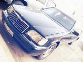 سيارة مرسيديس بنز شبح موديل 92 كامله اتوماتيك كهرباء كامله S500