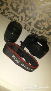كاميرا كانون 1100D نظيفة جدا