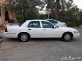 للبيع فورد جراند ماركيز LS أبيض 2008 فل كامل بحالة ممتازة