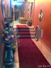 غرف فندقية مفروشة بالعزيزية .. للإيجار اليومي والشهري ...