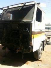شاحنة سكانيا 95 مصدومة للبيع تشليح