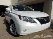 لكزس RX 2011 العداد 51 ميل السعر 115000 ريال بدون شحن وجمرك