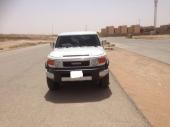 للبيع جيب اف جي كروز سعودي 2009 (FJ) ابيض نظيف جداا