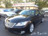 Black 2010 Lexus ES 350 Sedan