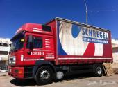 للبيع شاحنه مان لوري 2001 مقاس414