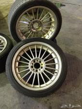 جنوط بي ام دبليو ألبينا مع كفرات يوكوهاما  لللبيع _ BMW alpine Rims( alloys) with Yokohama tires for
