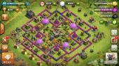 قرية في لعبة clash of clans