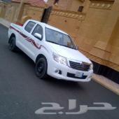 للبيع هايلكس 2013سعودي غمارتين فل . ماشي مية الف