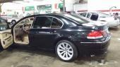 بي ام دبليو 2008 لارج 730 نظيف اللون أسود للبيع او البدل العاجل