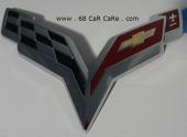 68 بأقل الاسعار .. علامة كورفيت C6 ( أحمر - أسود )