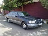 سيارتين للبيع مرسيدس شبح موديل 1991 وسيارة لكزس ls400 موديل 1993