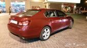لكزس جي اس 300 موديل 2006 احمر  للييع