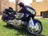 رحال Goldwing GL1800 نظيف جدا ولون مميز