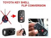 مفاتيح وريموتات تويوتا بشكل جديد