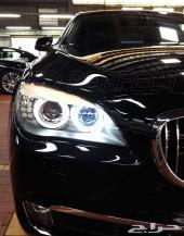NEW جديد تحويل Fog light - angel eyes الاماميه من اللون الاصفر الي LED ابيض 2014-BMW
