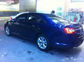 فورد توروس SEL 2011 تحت الفل لون ازرق داخل بيج لازالت بطاقه سيمت 58 الف