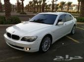 BMW 750 Li موديل 2008 خليجي ابيض