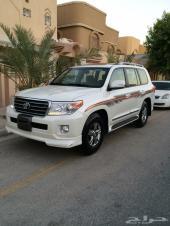 للتنازل لاندكروزر GXR موديل 2013  وارد ابو ظبي