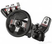 للبيع مقود التحكم (دركسون) لالعاب السيارات (ps3 pc (Logitech G27