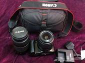 كاميرا كانون D1100 مع عدسة LeNs ef 75-300mm