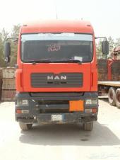 شاحنة مان 2004 للبيع مع الونش