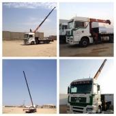 معدات ثقيله للبيع - كرين 50 طن - قلاب سكس - راس تريله - بوم ترك
