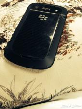 بلاك بيري 9900 اللون  اسود نظيف جداا