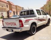 للبيع هايلكس موديل 2012 - GL عادي سعودي